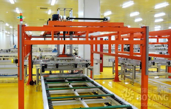 太阳能光伏组件生产线