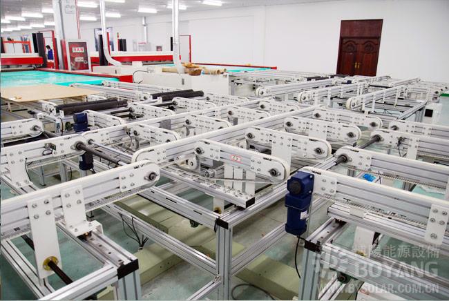 太阳能光伏组件生产线-智能排版混进输送机